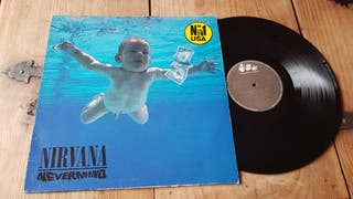 "Nirvana-Vinilo LP ""Nevermind"""