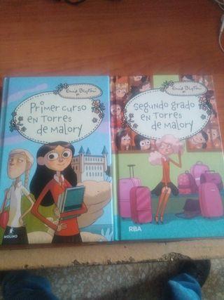Libros Torres de Malory