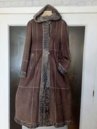 Precioso abrigo reversible de Elena Benarroch