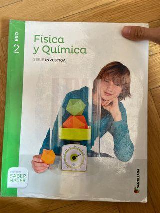 Libro física y química 2 eso Santillana