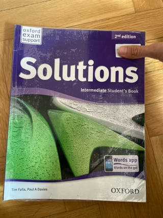 Libros Solutions 2 inglés oxford education