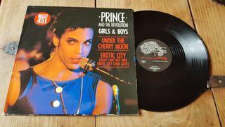 "Prince-Vinilo Maxi Single 12"" Girls & Boys"