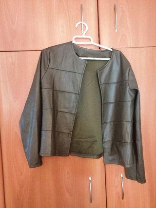chaqueta imitación cuero