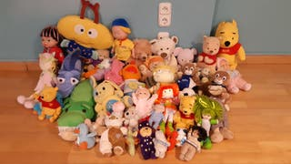peluches lote