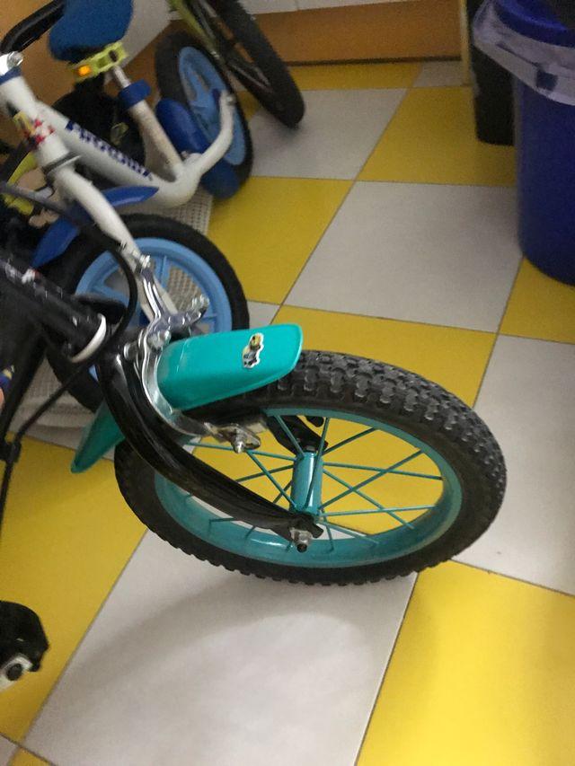 Bicicleta a partir de 4 añis