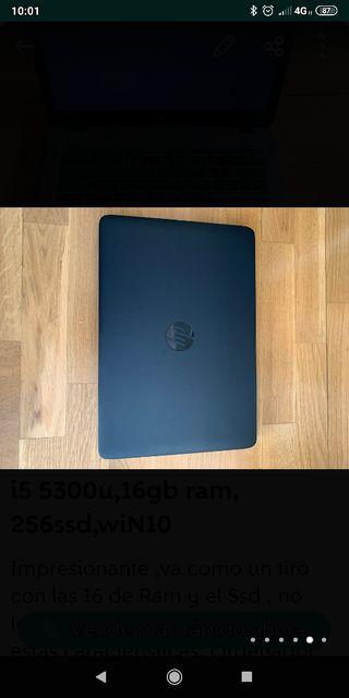 CHOLLO!! HP 840G2, i5 5300u,16GbRAM,256 SSD,WIN 10