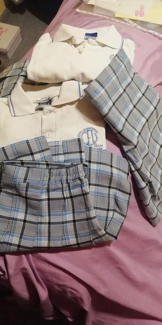 uniformes colegio El carmen