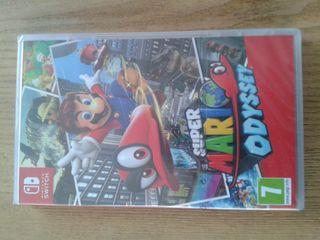 Super Mario Odyssey nintendo switch precintado