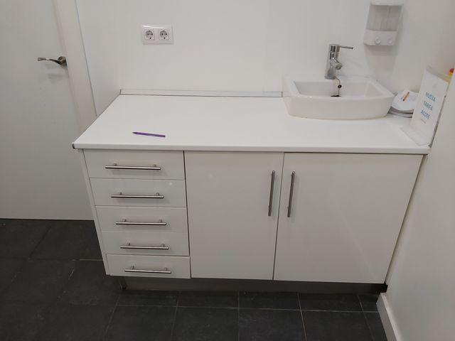 mueble clínica cocina