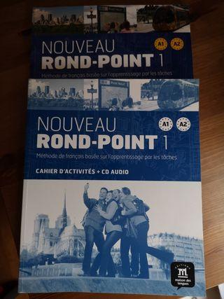MÉTODO FRANCÉS NOUVEAU ROND-POINT 1 NIVEL A1 A2
