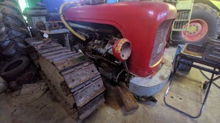 Tractor cadenas massey ferguson super 44