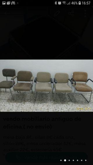 sillas antiguas oficina
