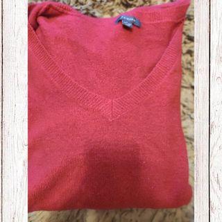 Jersey rojo Primark.