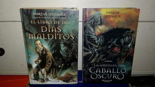 lote 2 libros .