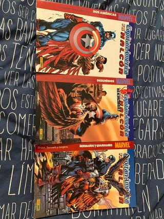 Cómics Capitán América y Halcón