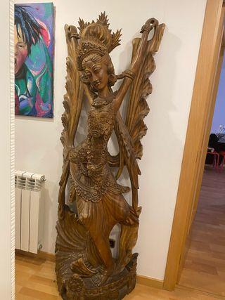 Figura decorativa Madera
