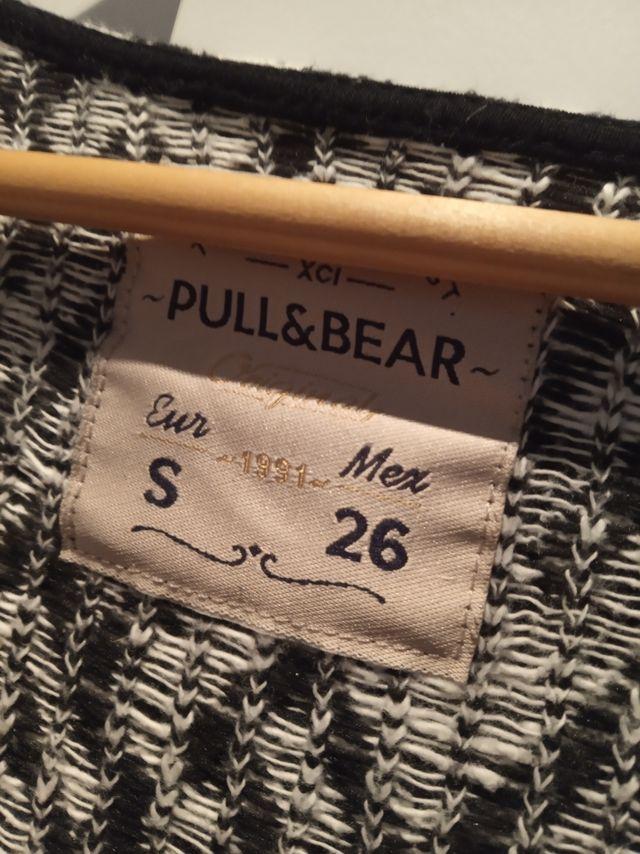 Cardigan Pull and Bear con diseño tribal.