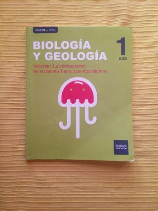 Libro de Biología y Geografía 1º de la ESO