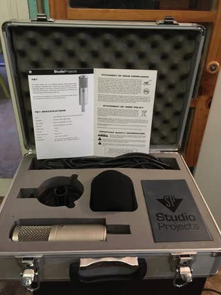 Microfono de estudio profesional