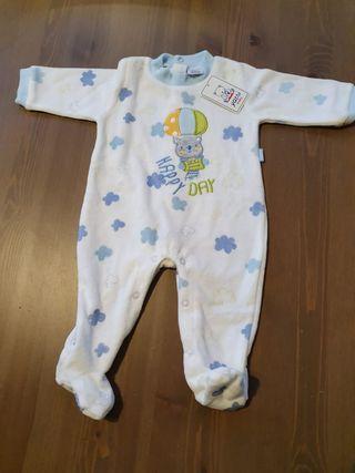 Pijama bebé talla 3 meses