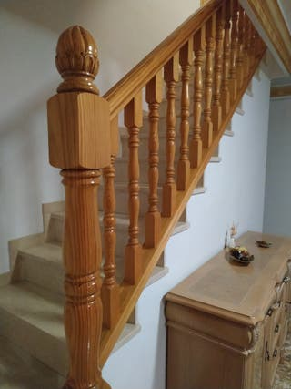 Balustrada de madera