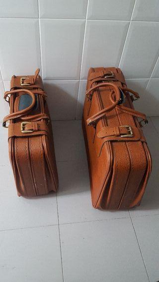 juego maletas vintage