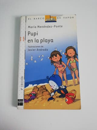 PUPI EN LA PLAYA - ISBN 9788467547955