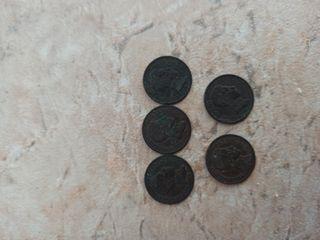 Vendo monedas de colección año 1906 y 1957