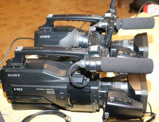 Dos camaras Sony HXR MC2000