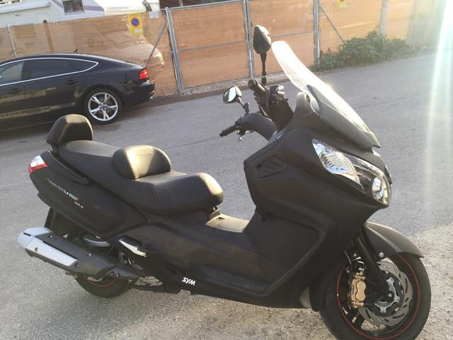 Moto SYM MAX como nueva. Gran oportunidad