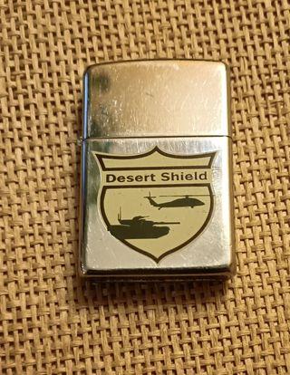 Mechero Zippo Desert Shield 1990