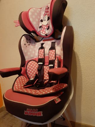 silla de coche Disney. Homologada.