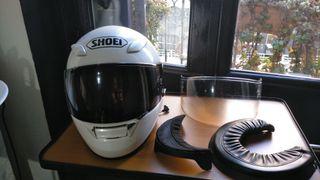 CASCO SHOEI XR-1100 Talla XS Blanco perlado sutil