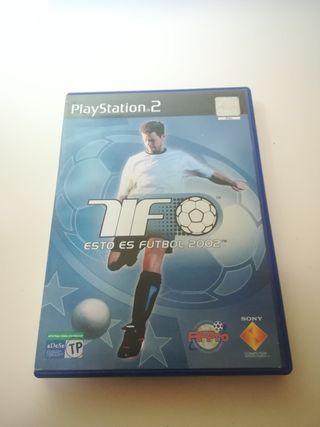 Esto es Fútbol 2002 PS2