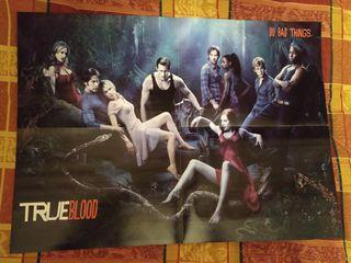 Poster True Blood + Bajo la Misma Estrella