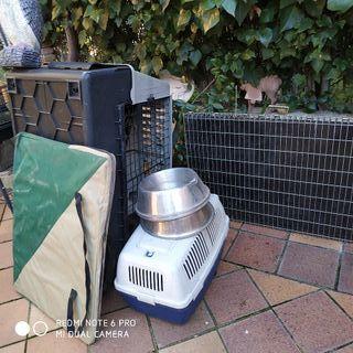 jaulas de exposición para perros
