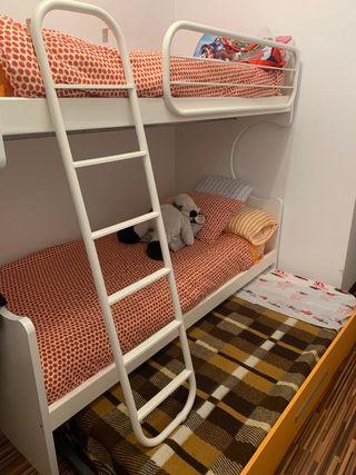 Literas y camas nido