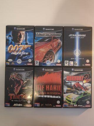 Lote 4 juegos Gamecube