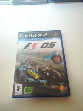 F1 05 PS2