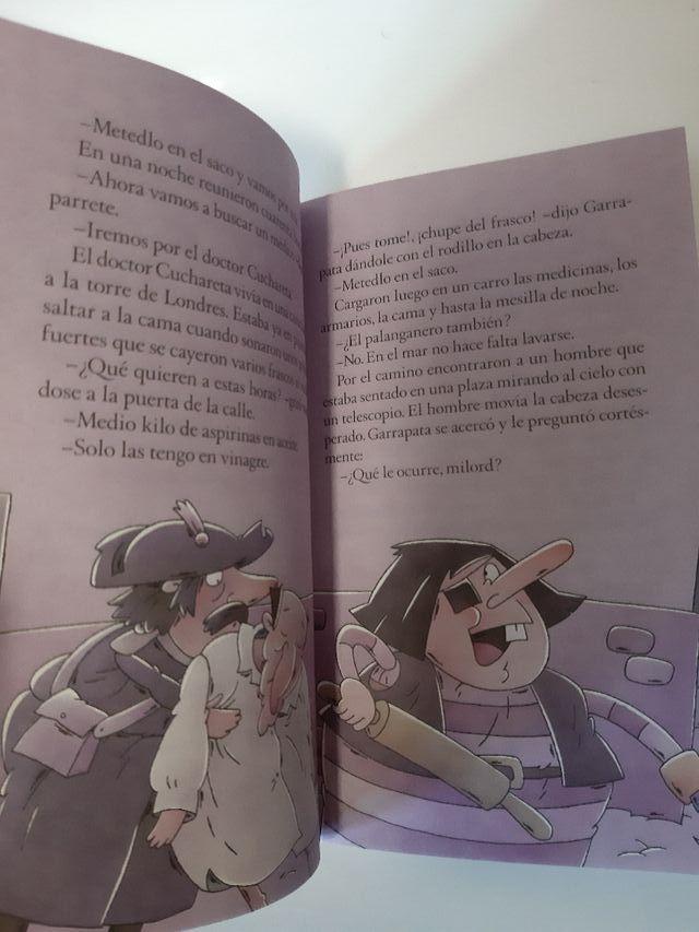 EL PIRATA GARRAPATA (A PARTIR DE 8 AÑOS)