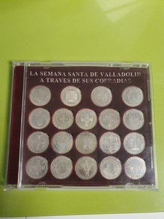 monedas de plata de Semana Santa de valladolid