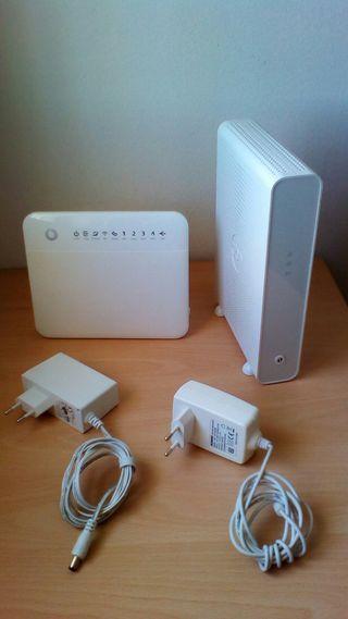 Router WiFi y Fibra