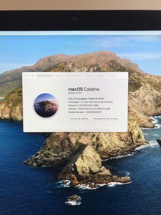 iMac 21,5 pulgadas, finales del 2012