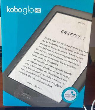 Ereader, libro electrónico Kobo Glo