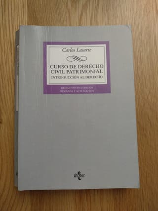 Libro Curso de Derecho Civil Patrimonial