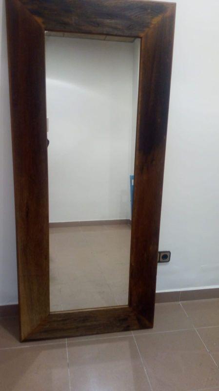 Espejo macizo de 1,80 alto x 80 de ancho.. Negocia