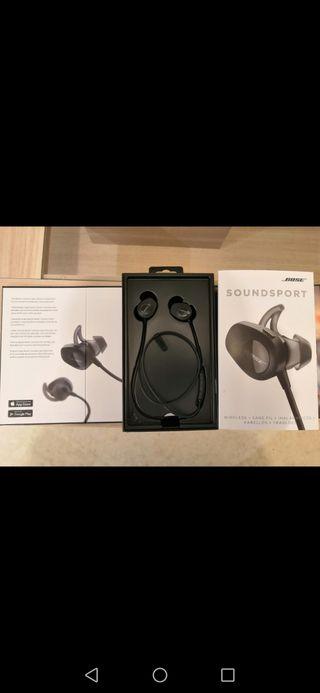 Écouteur sans fil Bose SoundSport noir