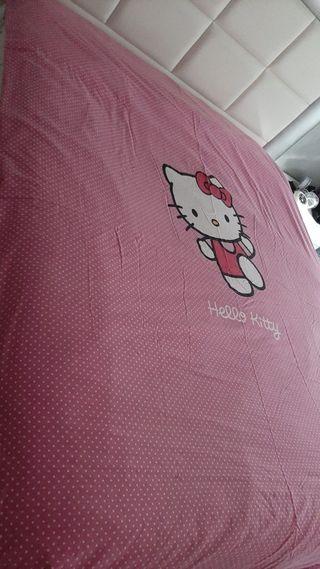 Funda para nórdico Hello Kitty reversible1.57anch
