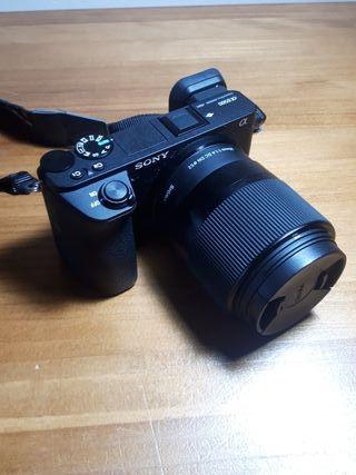 Cámara Sony a6500/Sigma 30mm 1.4 A Estrenar NUEVA
