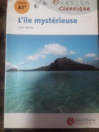 libro en frances nivel A1 L'ile mysterieuse